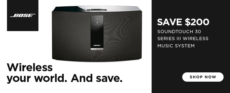SAVE $200 : Bose SoundTouch 30