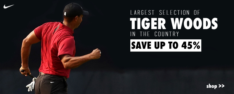 Tiger Woods : Save Up To 45%