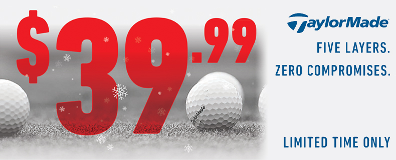 TaylorMade : TP5 & TP5x Ball Sale